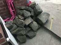 Large Weathered Garden Rockery Stones