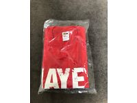 Hayemaker large red t-shirt