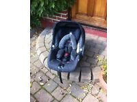 Mamas and papas car seat with diono inserts