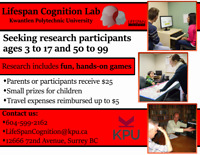 Participants needed for Paid, Fun Psychology Study