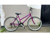 Ladies vouge mountain ridge bike town and country bicycle