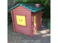 Little tikes playhouse log cabin