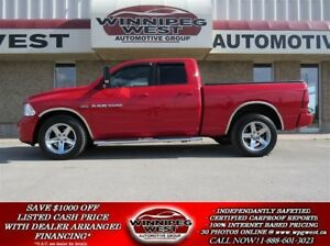 2012 Dodge Ram 1500 SPORT HEMI 4X4, LEATHER, NAV, SATELLITE & MO