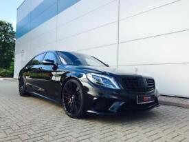 2014 64 Mercedes-Benz S63 L AMG 5.5 Executive + BLACK + **ALL BLACK*** + 3 TVs