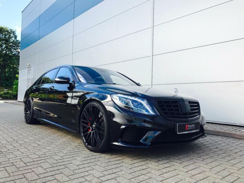 2014 64 mercedes benz s63 l amg 5 5 executive black for Mercedes benz s63 amg 2014