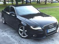 AUDI A4 2.0TDI S LINE AUTOMATIC,HPI CLEAR,1 OWNER,SAT NAV,LEATHER,CRUISE,XENON
