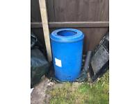 Homemade compost bin 190cm X 58cm