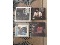 4 audiophile lp records
