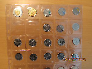 Set of Vancouver Olympics and Parks Canada coins