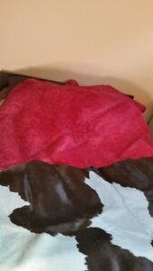 2 genuine full sized cow hides