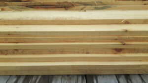 Good quality 6 inch white pine boards