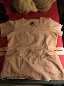 FOR SALE:  Dickies light pink scrub set.