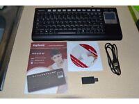 KeySonic Wireless Keyboard & TouchPad Mouse