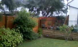 All Flagging Decking Turfing And Fencing Work Wanted. All Carried out to a High standard