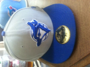 7 Assorted Toronto Blue Jays Hats (size 7 5/8's and 8)