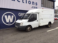 2008 Ford Transit T350 100 MWB Engineers Box Van for Auction
