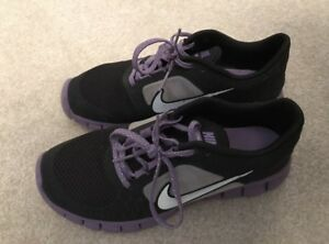 Purple & Black Nike Runners