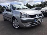 2005 Renault Clio + ONLY £20 road tax + Cheap Insurance 60k Low Miles + Full Renault History