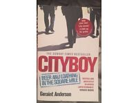 The Sunday times bestseller: Cityboy by Geraint Anderson