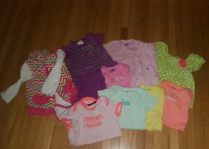 $5 -9m girls clothes