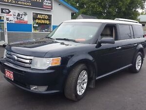 2010 Ford Flex 7 PASSENGER AWD CERTIFIED WW.PATTERSONAUTO.CA SEL