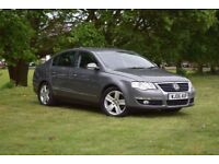 2006 VW PASSAT SPORT 1.9 TDI AUTO 140 BHP SALOON**LOW MILEAGE*DIESEL*FRONT & REAR PARKING SENSORS**
