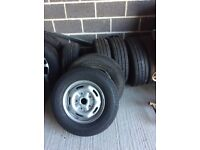 Ford transit 350 new set of wheels & tyers