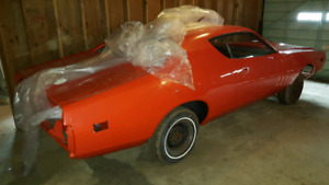 1971 Dodge Charger R/T Factory N96 Air Grabber