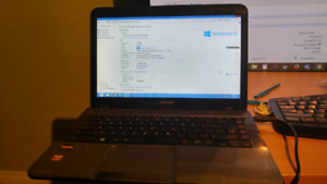 Barely used fast windows 8 laptop