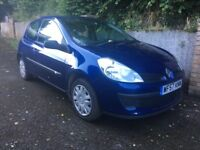 RENAULT CLIO 1.1 CHEAP INS AND TAX IDEAL FIRST CAR