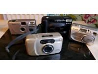 Assorted cameras x 4
