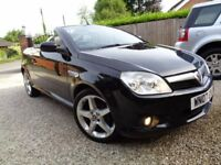 *** 2007 VAUXHALL TIGRA 1400 EXCLUSIVE CONVERTIBLE DRIVES VERY WELL ***