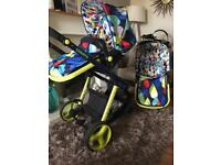 Cosatto Giggle pushchair car seat carry cot and more still in shops