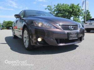 2013 Lexus IS 250 AWD - Certified LEATHER W/ MOONROOF PKG