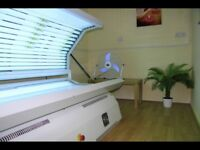 Shadow sunbed, good condition with tubes