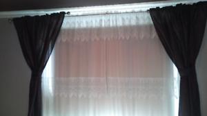 2 Panneaux couleur Prune
