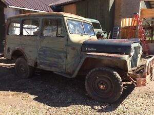 1951 WILLYS JEEP Station Wagon & parts body