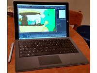 Surface Pro 3 i5 4GB 128gb SSD and Type Cover Like NEW perfect Conditions
