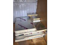 8 x celotex insulation boards - 40mm