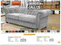 chesterfield style Sofa cum bed Df