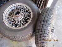 MG wire wheels