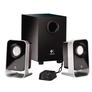 Haut-parleurs stereo Logitech speakers (with sub-woofer)