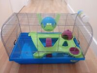 SAVIC BRISTOL HAMSTER CAGE WITH ACCESSORIES - SUITABLE FOR SYRIAN HAMSTERS