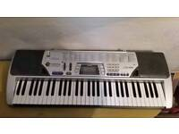 Casio CTK-496, 61 key, electronic keyboard with stand