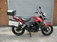 SINNIS Terrain 125cc Adventure style learner legal 2017 model brand new