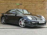 Porsche 911 2dr Turbo Tiptronic S (997) FULL PORSCHE & SPECIALIST HISTORY (black) 2007