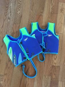 2 x Kids swimming vest / life jacket