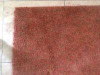 XLarge orange tones rug
