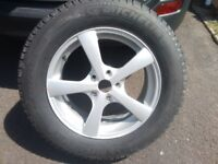 17 ins Alloy wheel Michelin Latitude tyre 225/65 R 17 -- bought as Spare for Toyota RAV4 never used