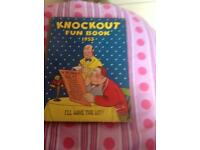 Knockout fun book 1955